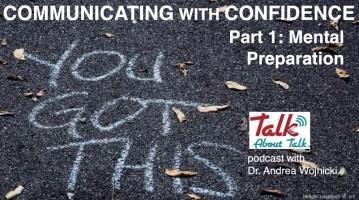 Communicating with Confidnce mental preparation Talk About Talk