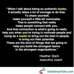 leadership quote heather stark
