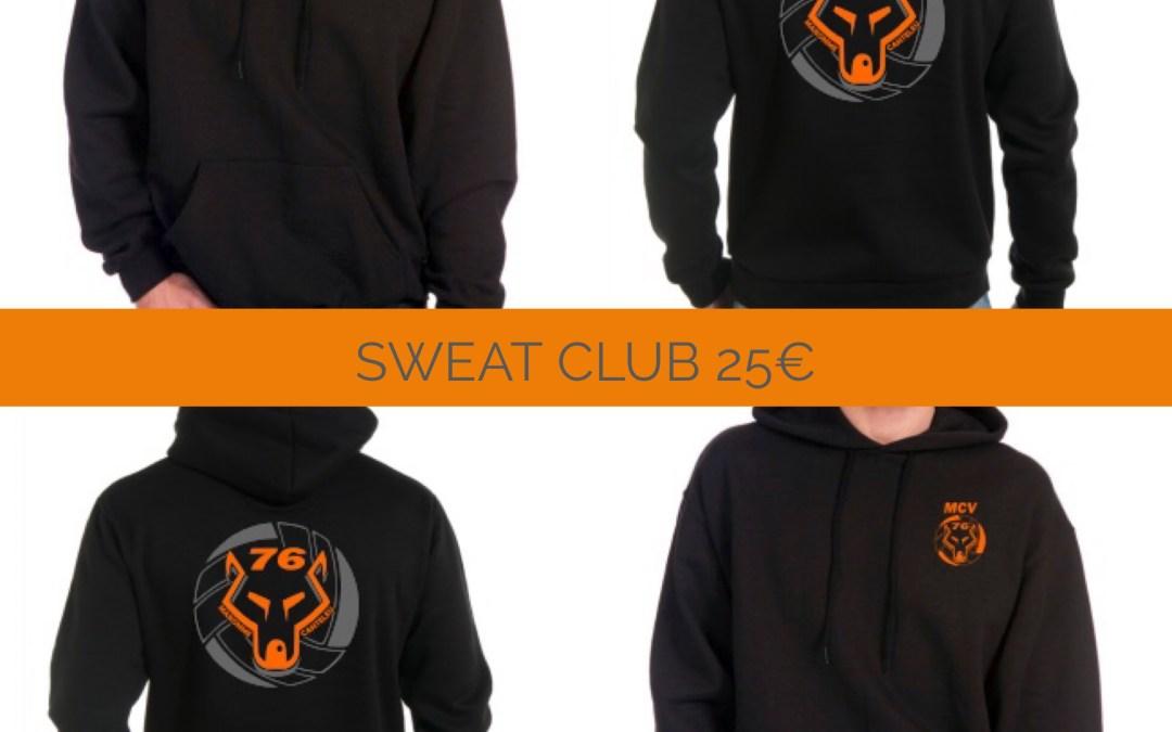Sweat du club – A vos commandes