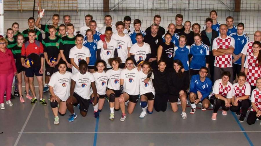 Canteleu : le comité de jumelage a organisé la 6e édition du tournoi de volley-ball