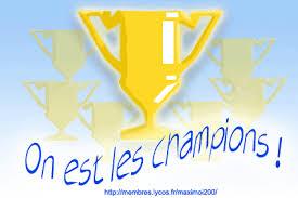 Dép 1 : « on est les champions ! »