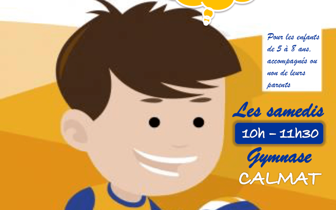 Baby Volley-ball de 5 à 8 ans