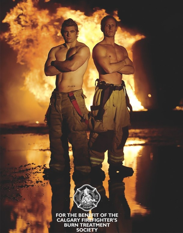 Calgary HotStuff Firefighters Calendar