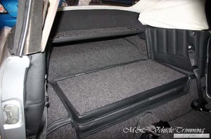 Volkswagen Karmann Ghia restoration  Car interior  M&C Vehicle Trimming Adelaide