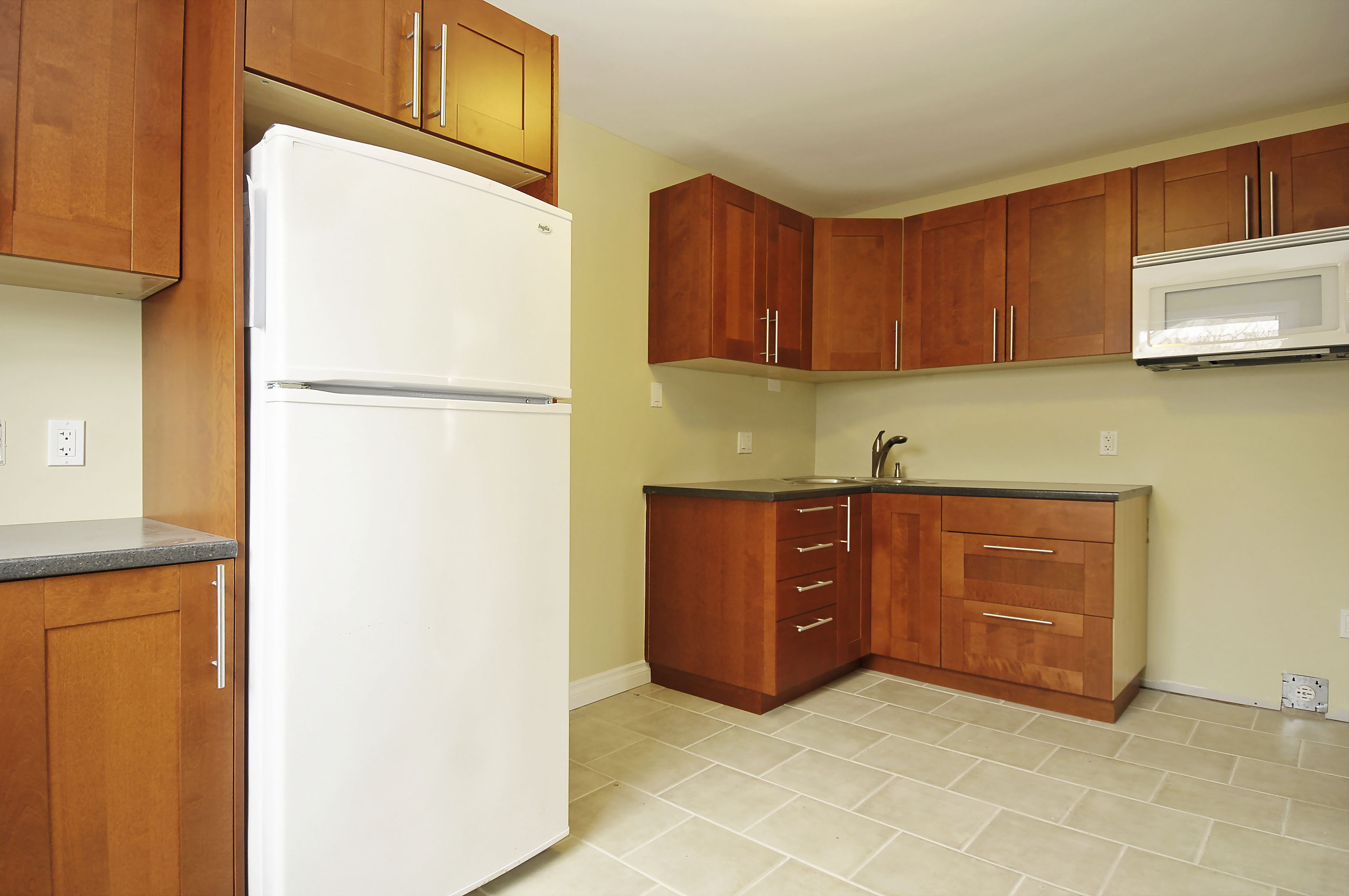 2-1127 Richard Avenue second floor kitchen fridge