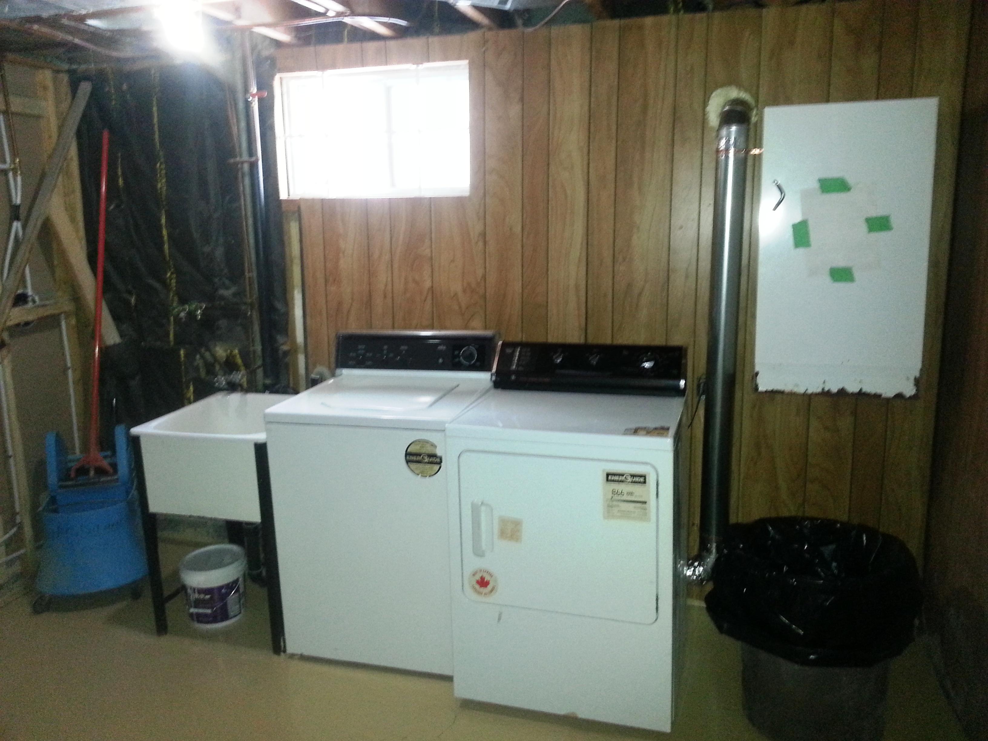 1125 Aldea Avenue basement laundry room