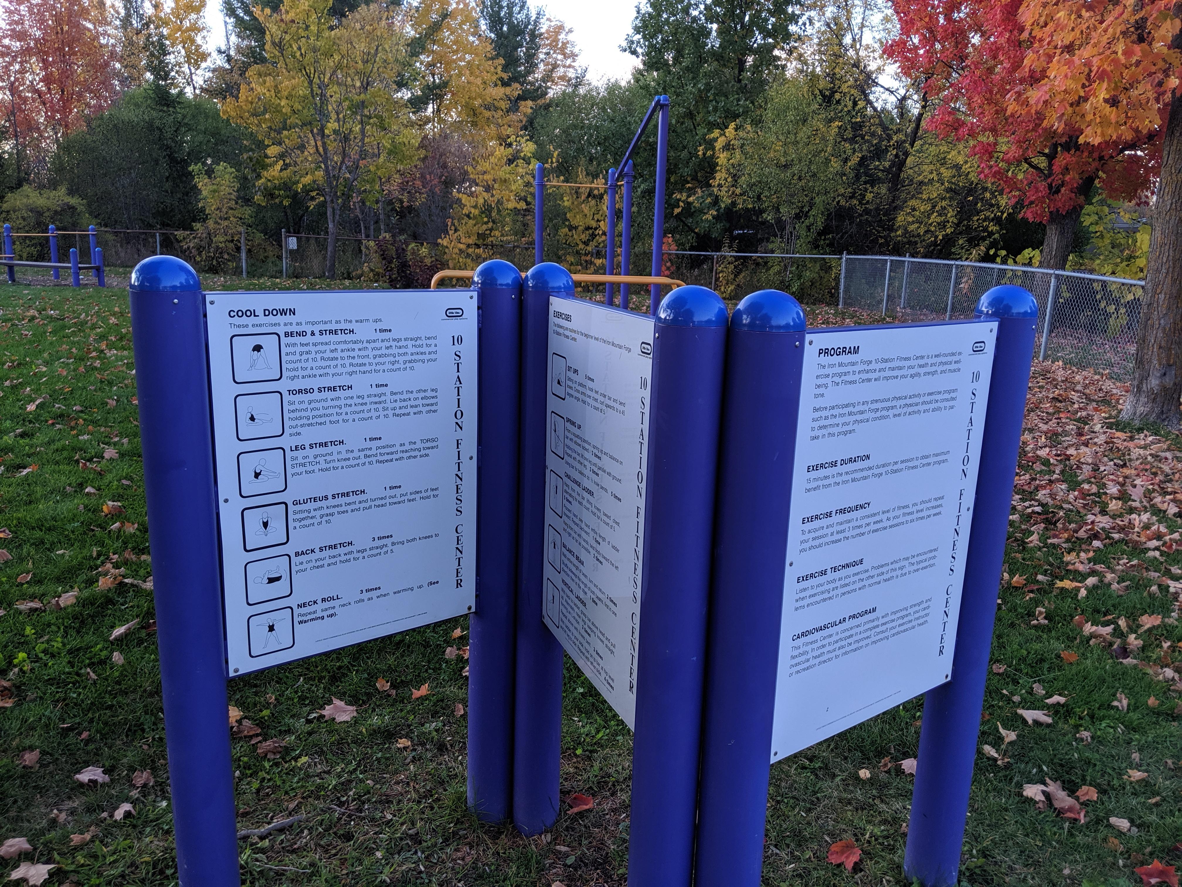 heron park signs