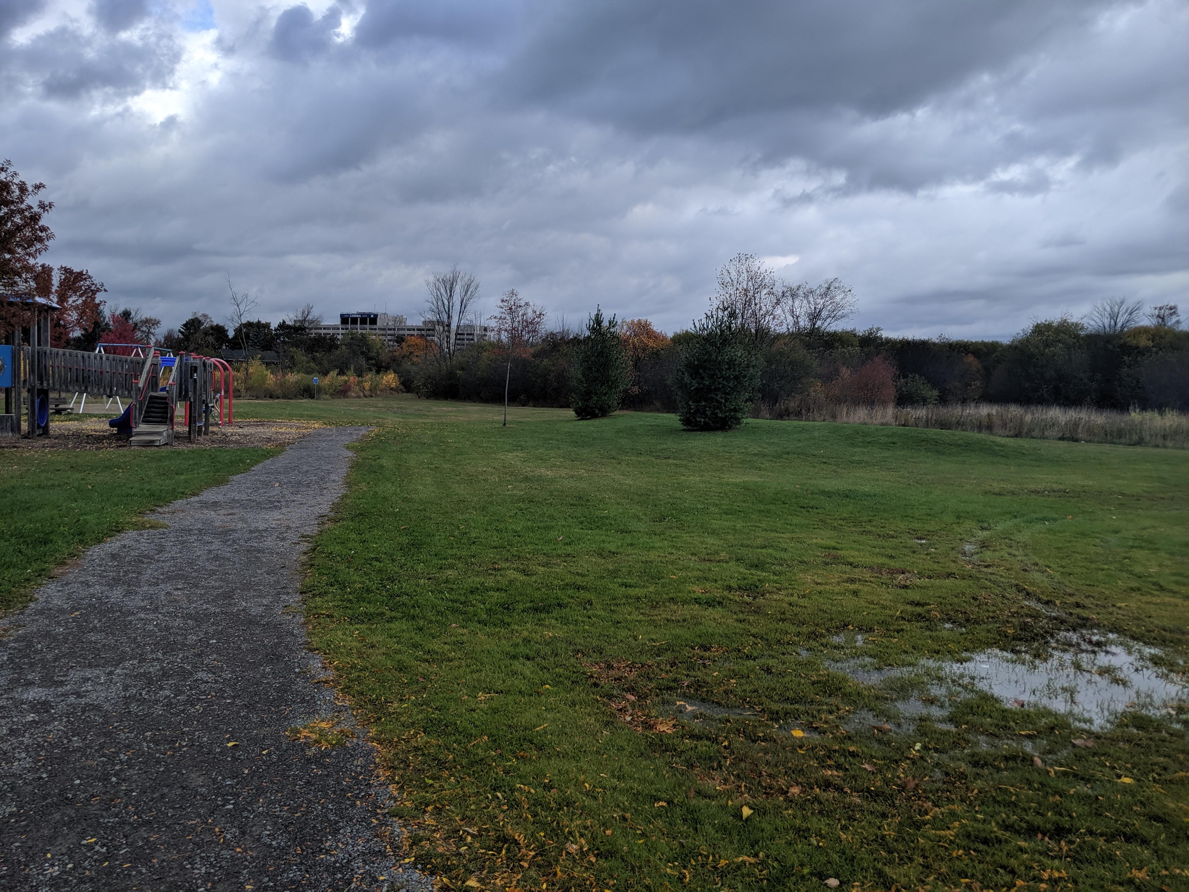 Billings Park pathway