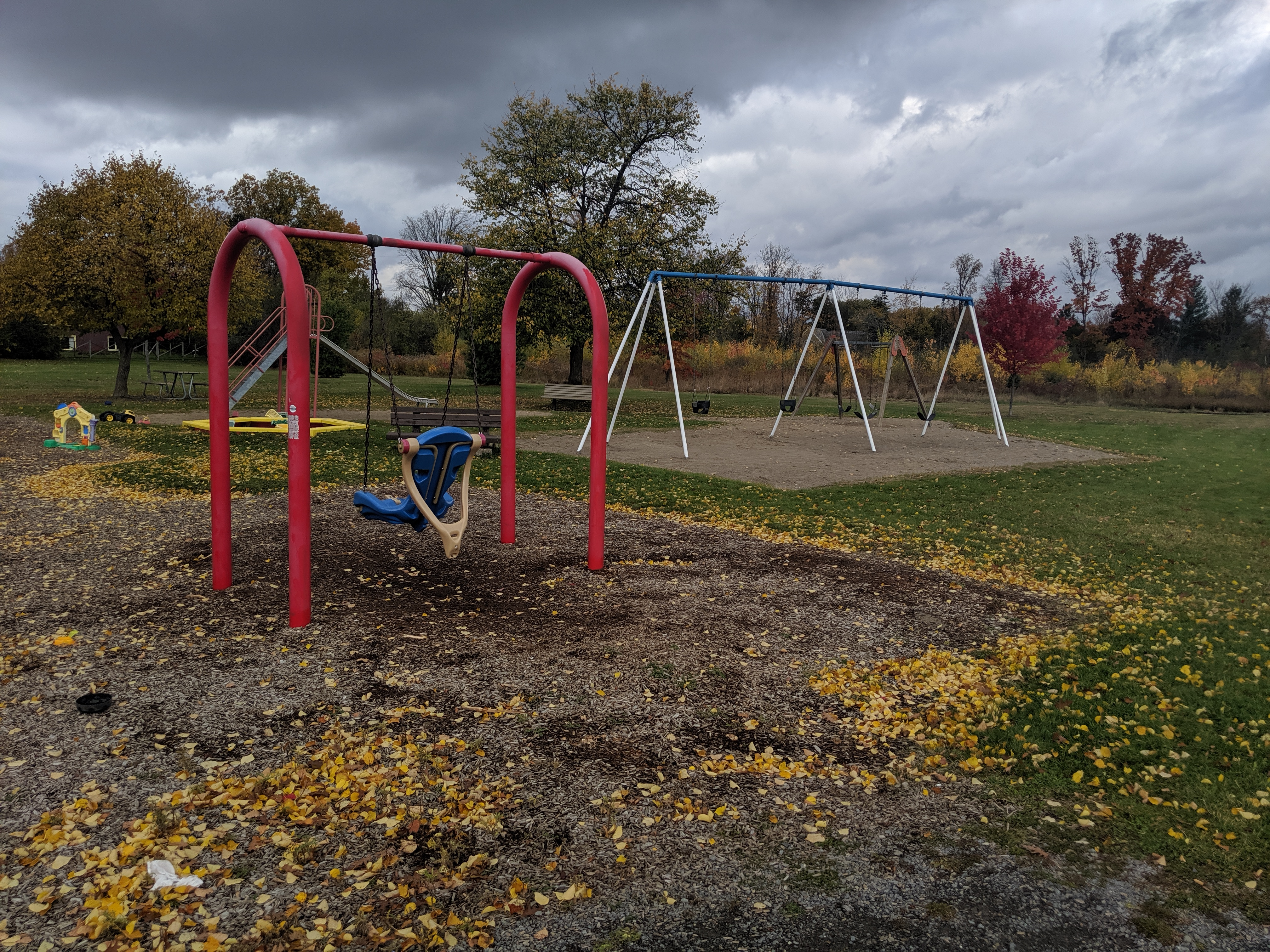 Billings Park swing set