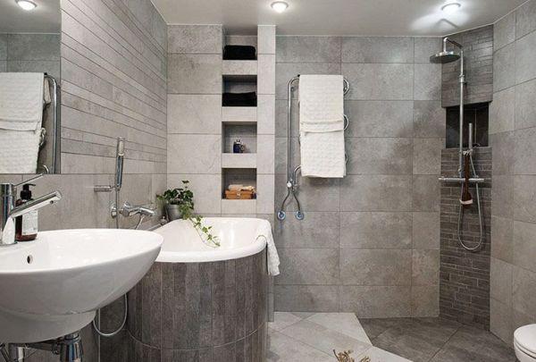 Основные правила меблировки ванной комнаты