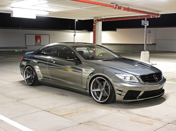 Mercedes CL 500 V8 [W216] Black Edition Tuning & Rennen ...