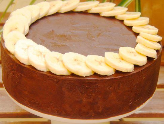 chocolate con platano