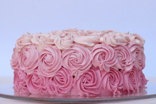 decoracion de tortas con crema