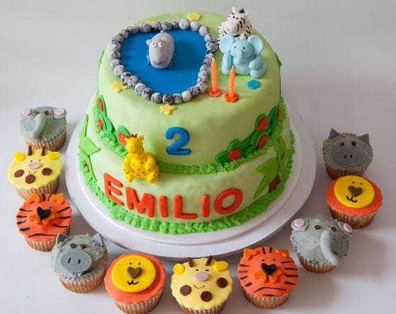 tortas con cupcake