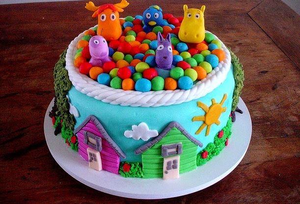 decoracion de tortas para niños