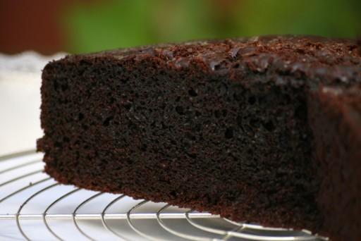 torta de chocolate humeda