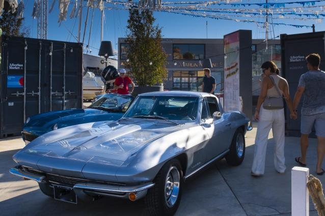 C2 Corvette from the second generation, 1963-1967