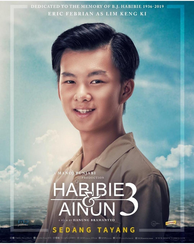 Liem Keng Kie Karakter Sahabat Rudy di Film Habibie Ainun 3