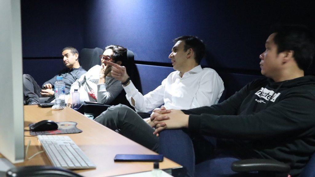 Produser Film Indonesia, Manoj Punjabi dan Stradara Awi Suryadi, preview scene KKN di Desa Penari