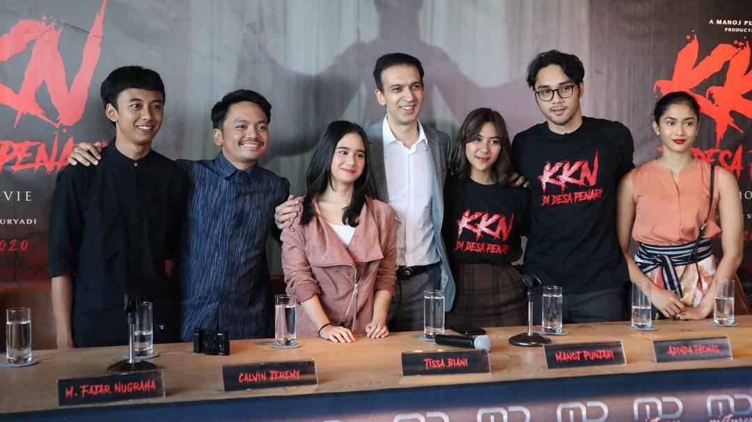 Produser Film Indonesia, Manoj Punjabi Launching Teaser Trailer & Teaser Poster KKN di Desa Penari