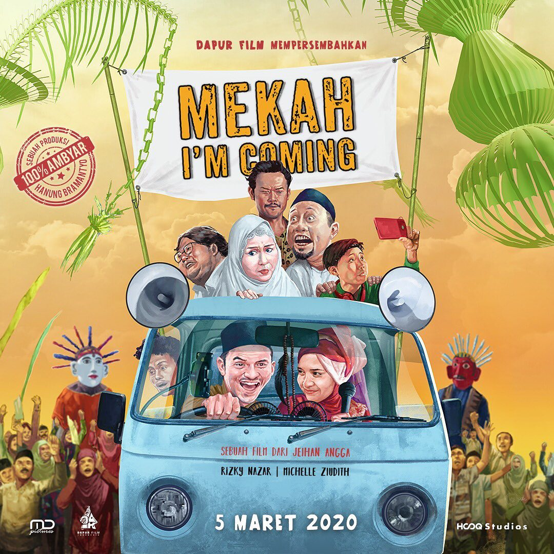 OFFICIAL POSTER Mekah Im Coming