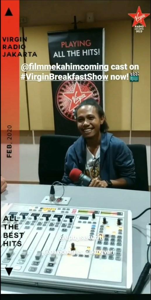 Seru Pemain Film Mekah Im Coming di Virgin Radio Jakarta