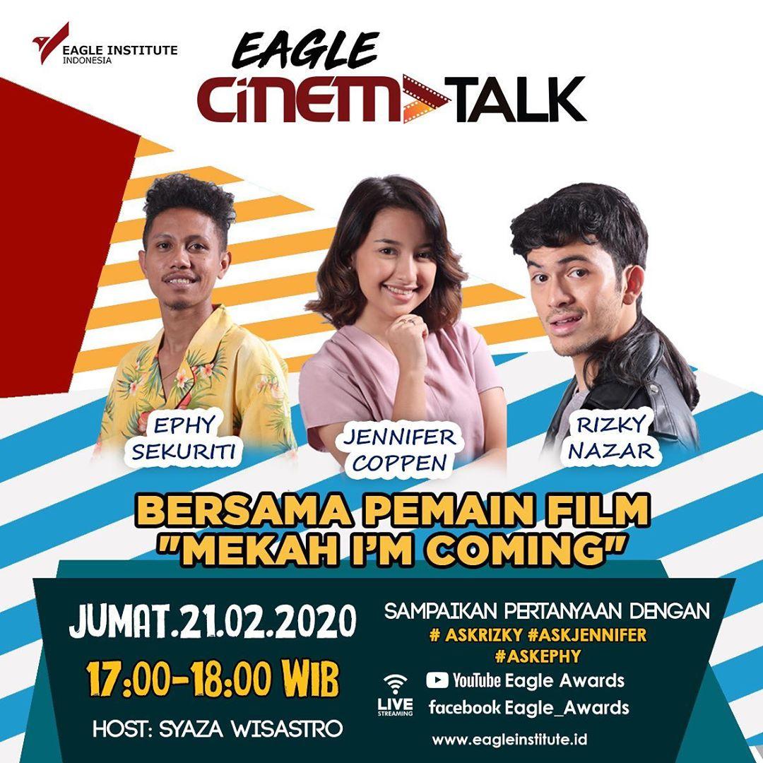 Eagle Cinema Talk Bersama Pemain Film Mekah Im Coming