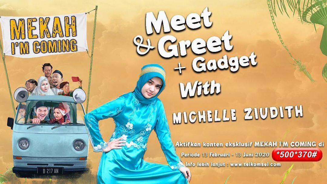 Kuis Meet & Greet Dapat Gadget Bersama Michelle Ziudith