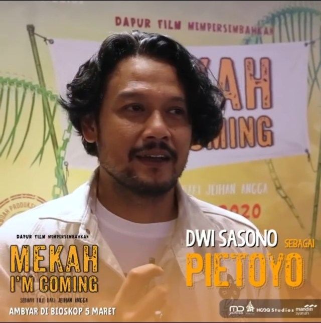 Dwi Sasono dan Rasyid Karim Memuji Film Mekah I'm Coming