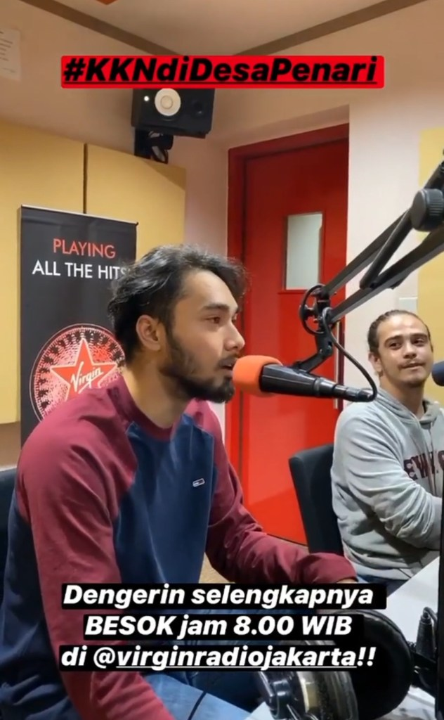 Ngobrol Santai Film KKN di Desa Penari, di Virgin Radio jakarta dan Smooth 99,5 FM