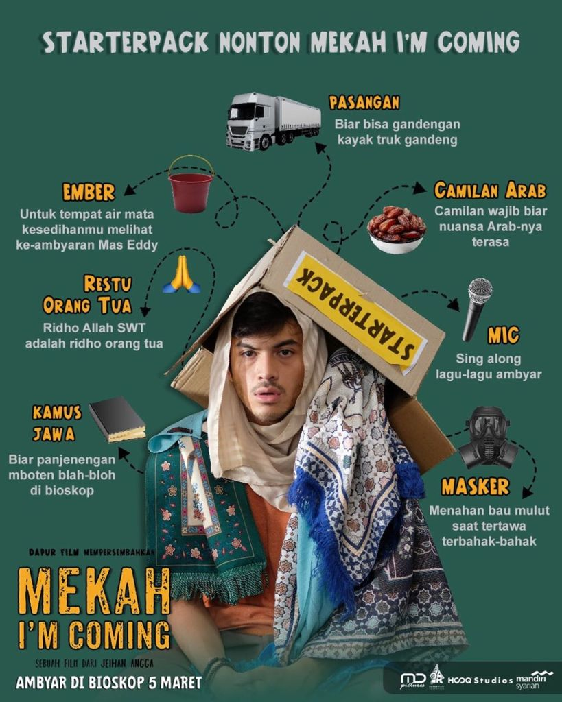 Starterpack Nonton Film Mekah I'm Coming