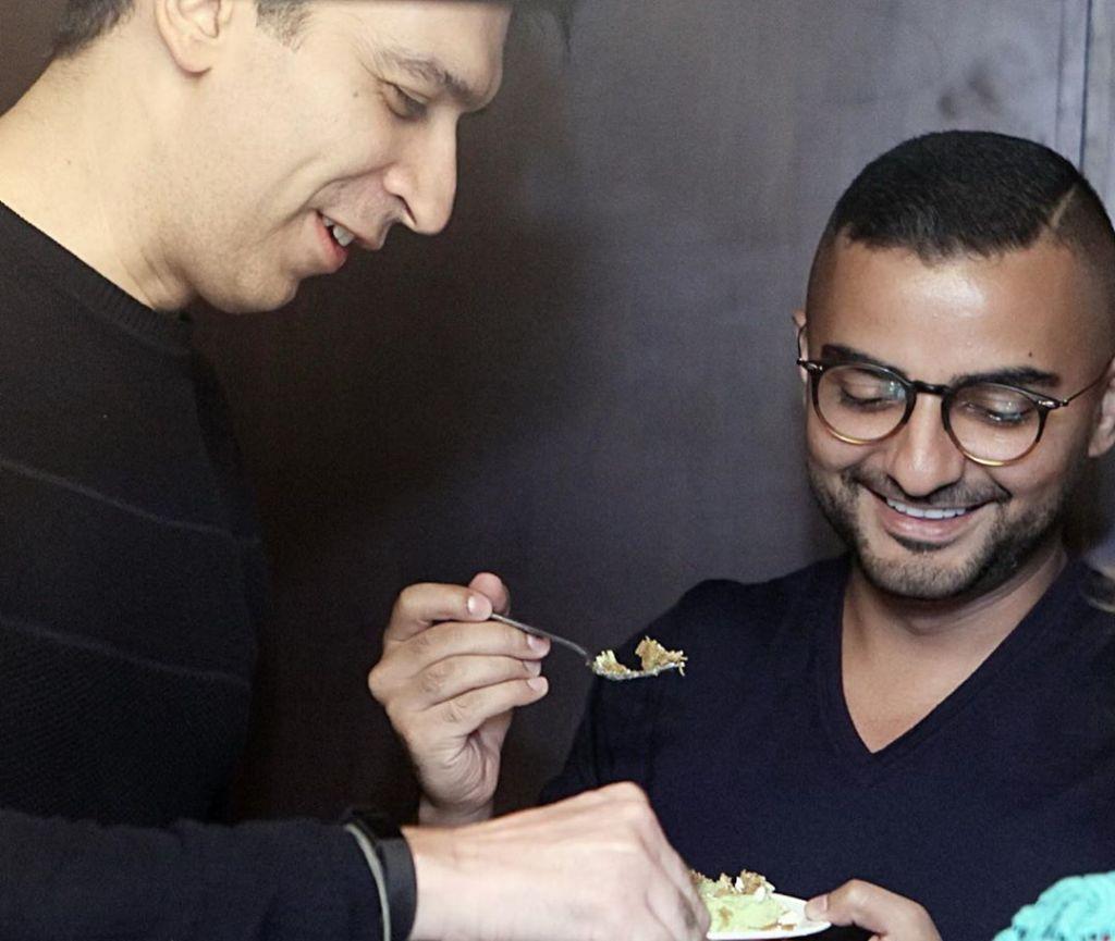 Shania Punjabi: The best kind of celebrations... just happen 💛🥂🥳