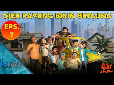 Adit & Sopo Jarwo | E7 : Ojek Payung Bikin Bingung