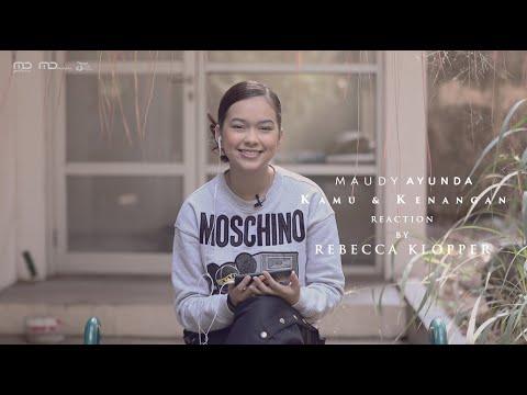 Maudy Ayunda - Kamu & Kenangan (Music Video Reaction) Rebecca Klopper