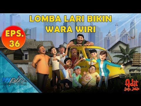 Adit & Sopo Jarwo   E36: Lomba Lari Bikin Wara Wiri