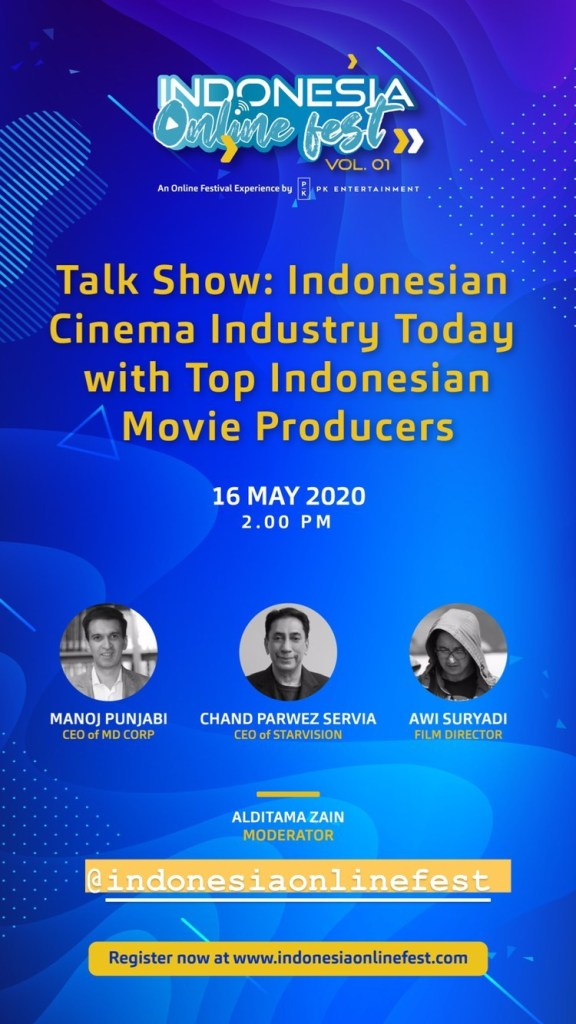 Talk Show: Indonesian Cinema Industry Today with Top Indonesian Movie Producers