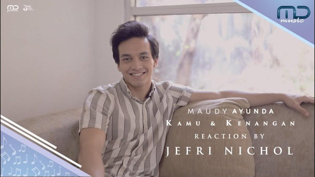 Maudy Ayunda - Kamu & Kenangan (Music Video Reaction) Jefri Nichol