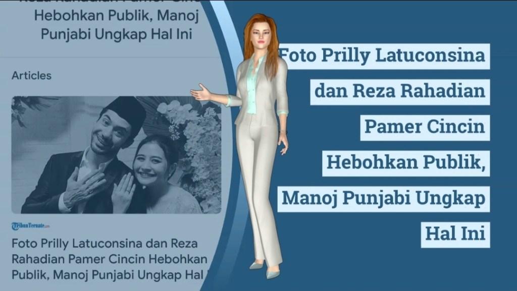 Foto Prilly Latuconsina dan Reza Rahadian Pamer Cincin Hebohkan Publik, Manoj Punjabi Ungkap Hal Ini - Tribun Ternate