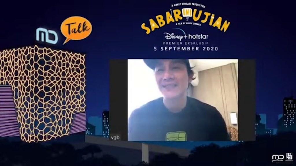MD Talk LIVE with Vino G. Bastian - Sabar Yang Tidak Sabaran
