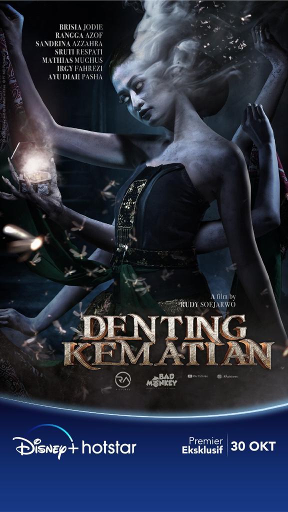Nantikan film Denting Kematian, tayang 30 Oktober di Disney Plus Hotstar