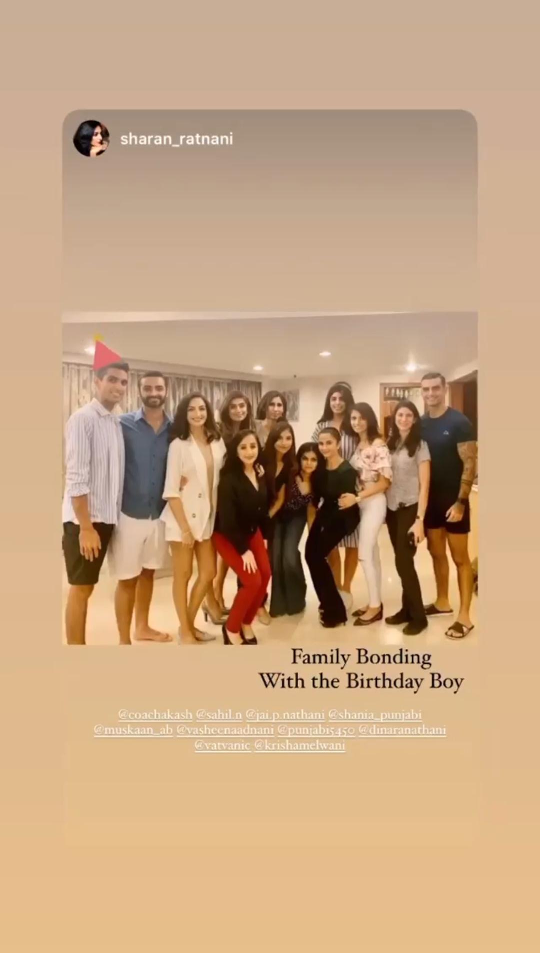Family Bonding With the Birthday Boy