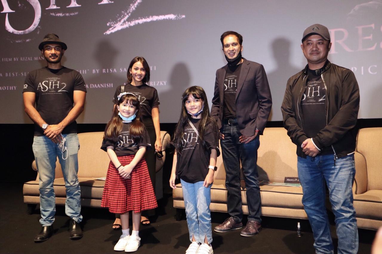 Press Screening Film ASIH 2 hari ini, bersama sutradara dan pemain. Siap-siap untuk menyambut Asih Kembali!