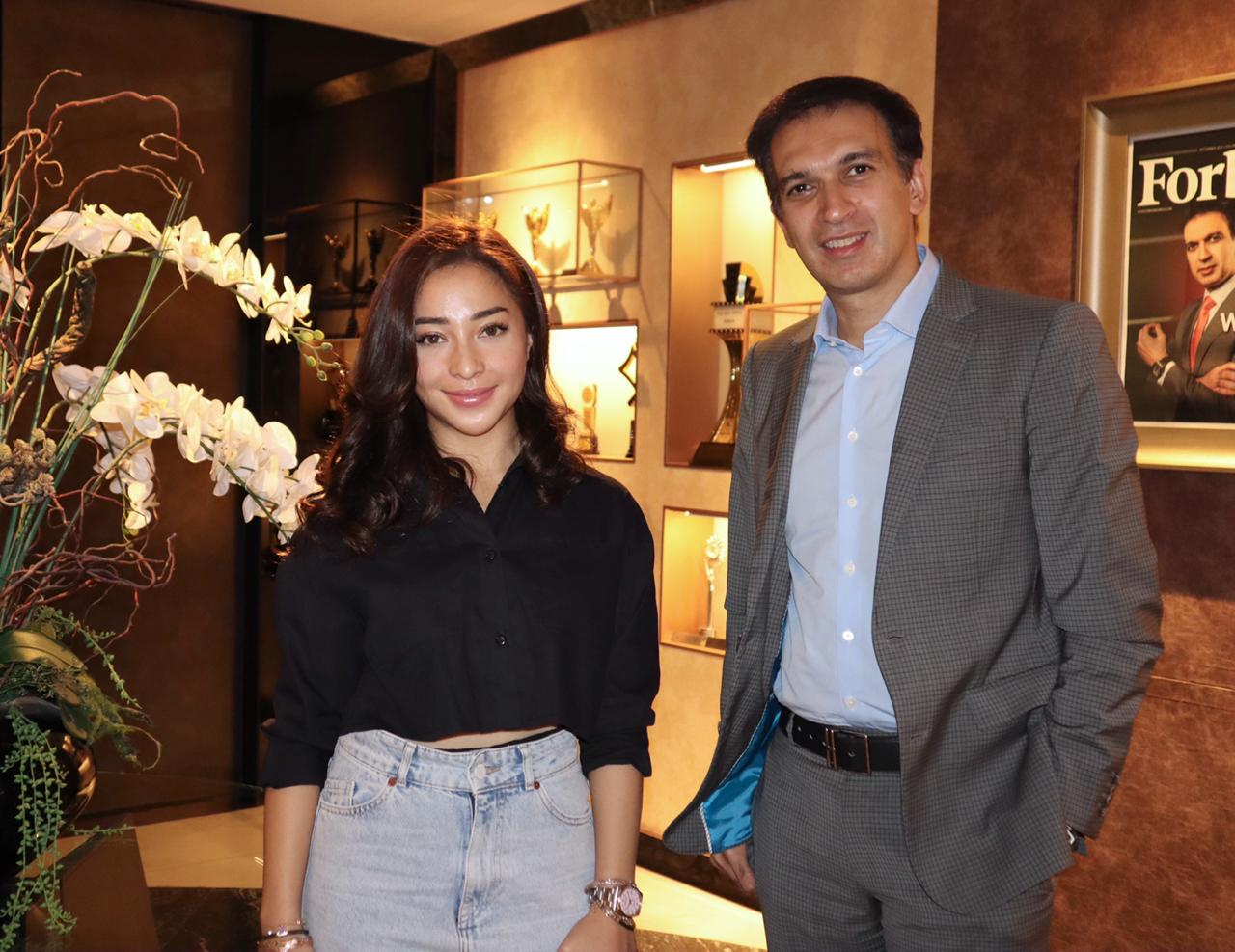 Had a nice little chat with Nikita Willy! Thank you for coming, all the best to you