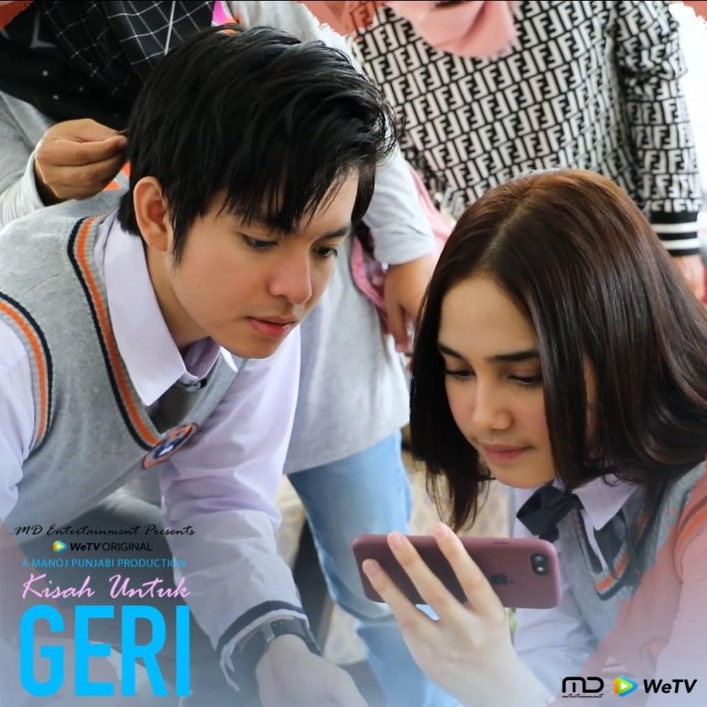 Siap-siap buat ketemu Dinda dan Geri di WeTV Original - Kisah Untuk Geri!