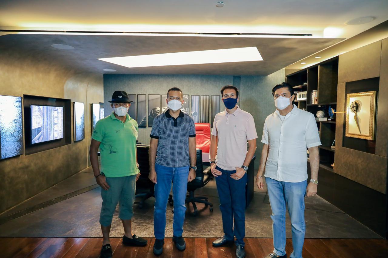 Kunjungan Wakil Gubernur Sumatera Utara Pak @musa_rajekshah, Pak @soekarnananan, dan @karansukarno_walia di kantor MD