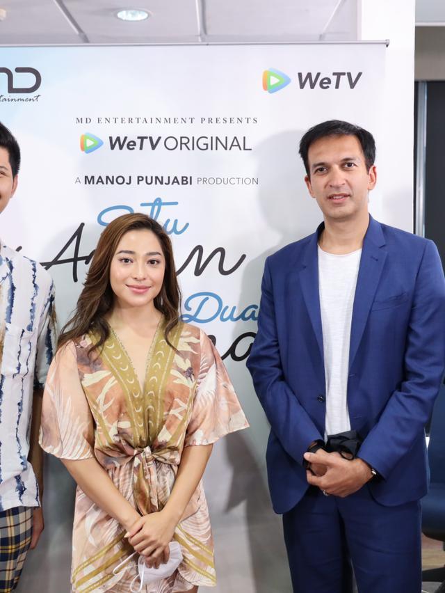 Syukuran series terbaru MD Entertainment, WeTV Original – Satu Amin Dua Iman, bersama sutradara dan pemain