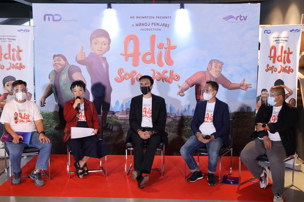 Press Conference rumah baru Adit Sopo Jarwo!