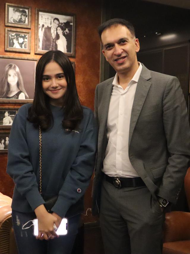 Had a lovely chat with Dinda yang lagi mudik ke Jakarta
