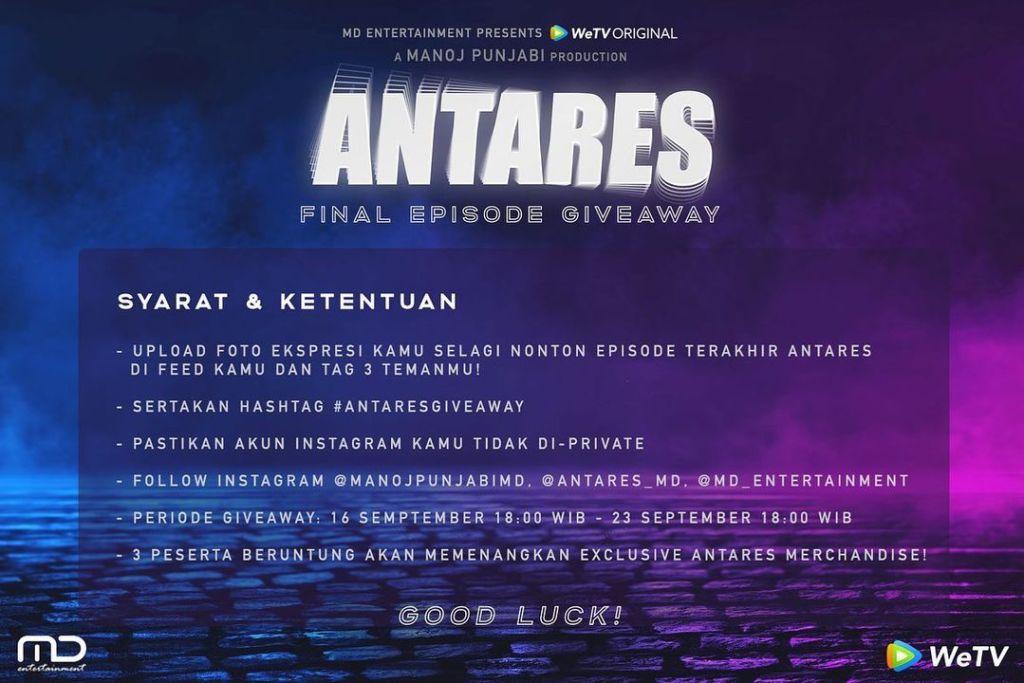 Final Episode Antares Giveaway