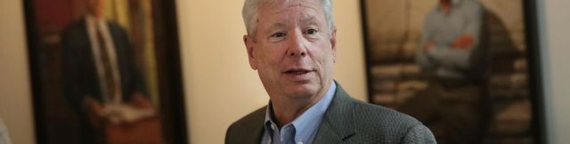 Richard Thaler à Chicago, lundi.
